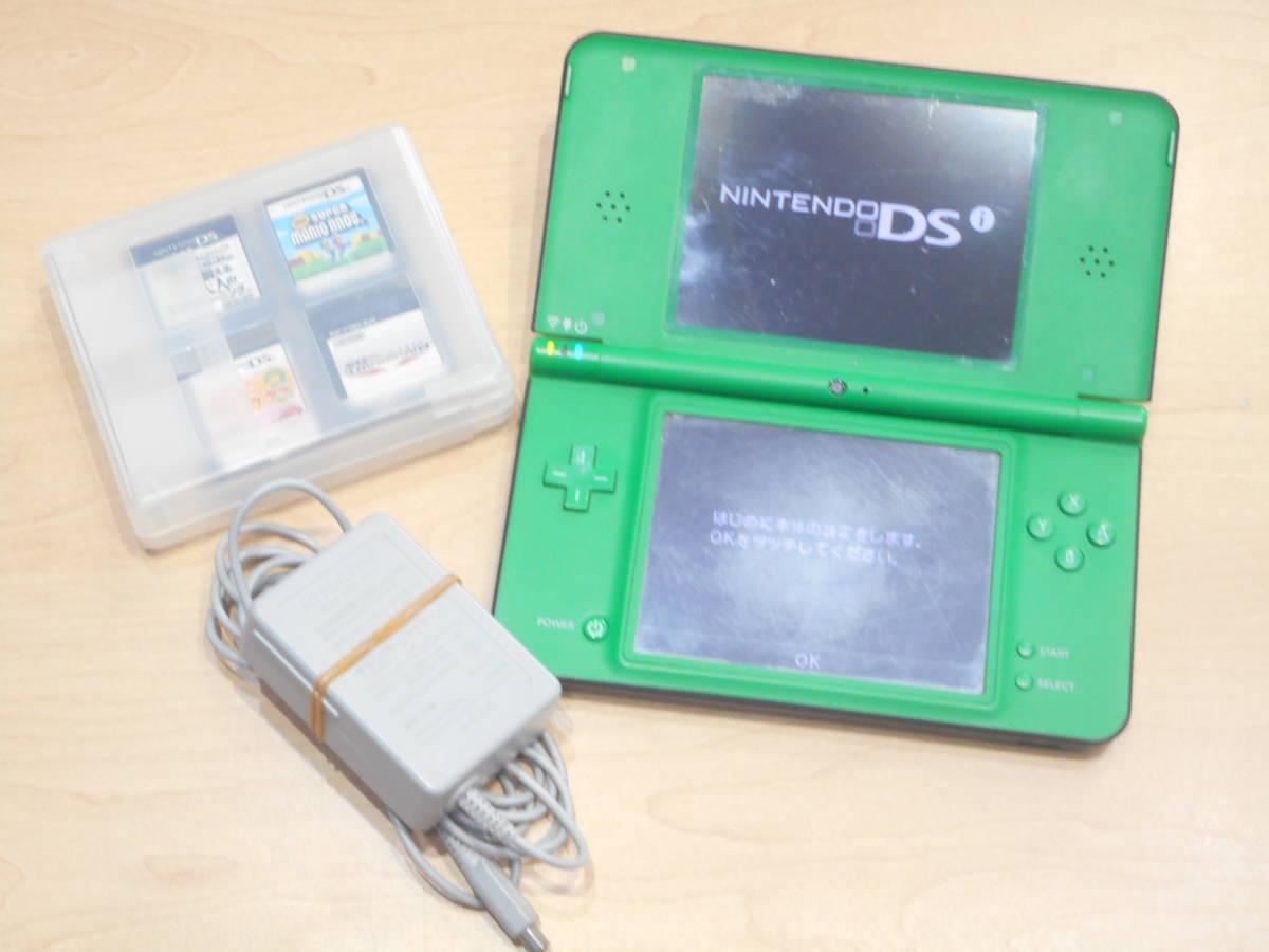 ◇ゲーム機 ソフト おまとめ8点セット Nintendo DSi LL ニンテンドー DSi LL スーパーマリオブラザーズ マリオカート他◇