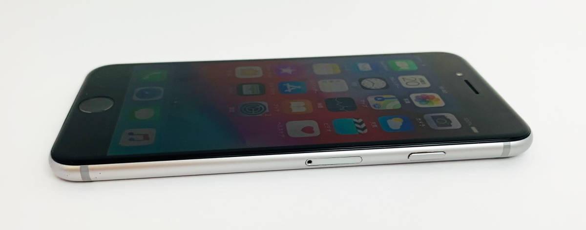 質屋出店 中古品 初期化済み Apple iPhone6 A1586 MG4A2J/A 128GB スペースグレイ ○判定 ジャンク品 1円オークション_画像7