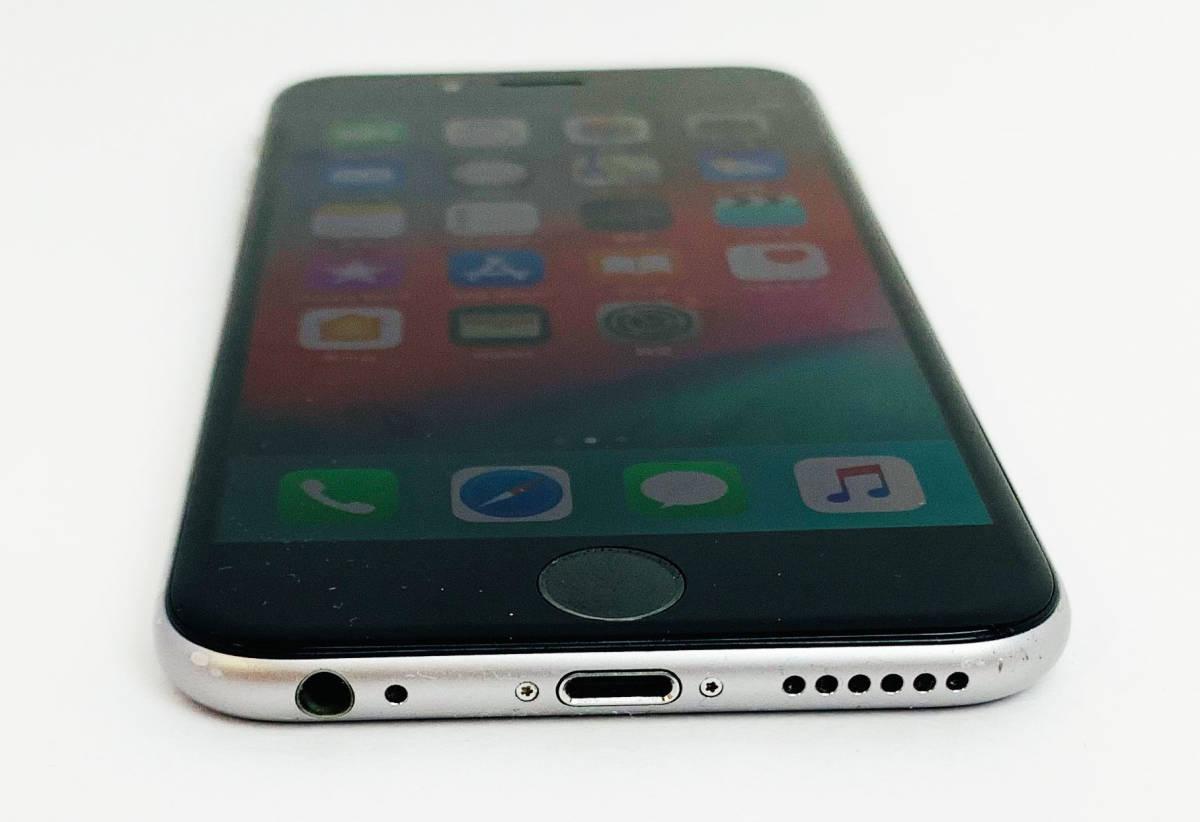 質屋出店 中古品 初期化済み Apple iPhone6 A1586 MG4A2J/A 128GB スペースグレイ ○判定 ジャンク品 1円オークション_画像8