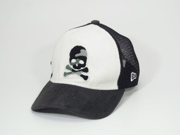 M4241*ダンスウィズドラゴン×New Era/ニューエラ*迷彩スカル*コラボパイルキャップ/ゴルフキャップ/スナップバックキャップ/帽子