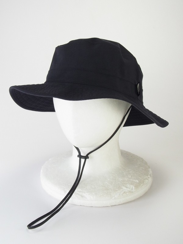 F4459*THE NORTH FACE/ノースフェイス*NN01605*折りたたみ/持ち運び可能*GORE-TEX/ゴアテックスハット/バケットハット/帽子*黒*XL
