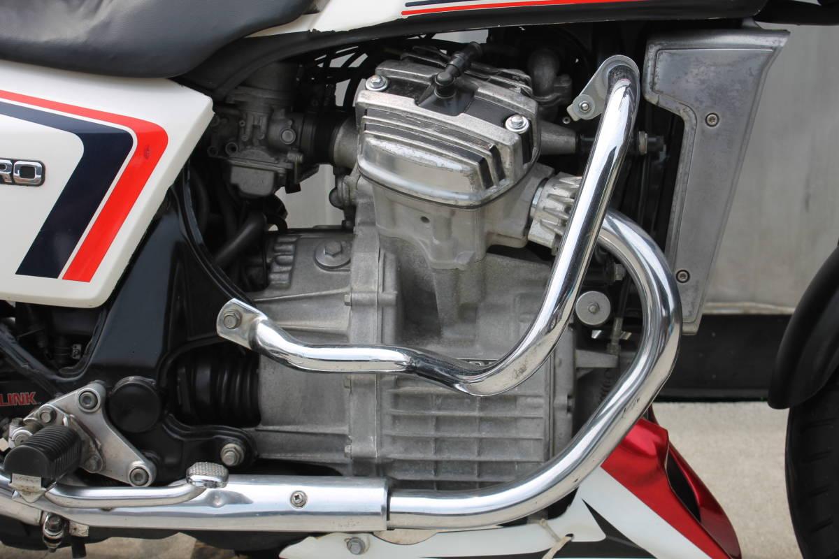 絶版 旧車 CX400ユーロ 車検付 希少 昭和57年式 当時物 ノーマル ホンダ アンダーカウル付 動画有 検: NC08 GL400 CBX CB ZXCV19258_画像7