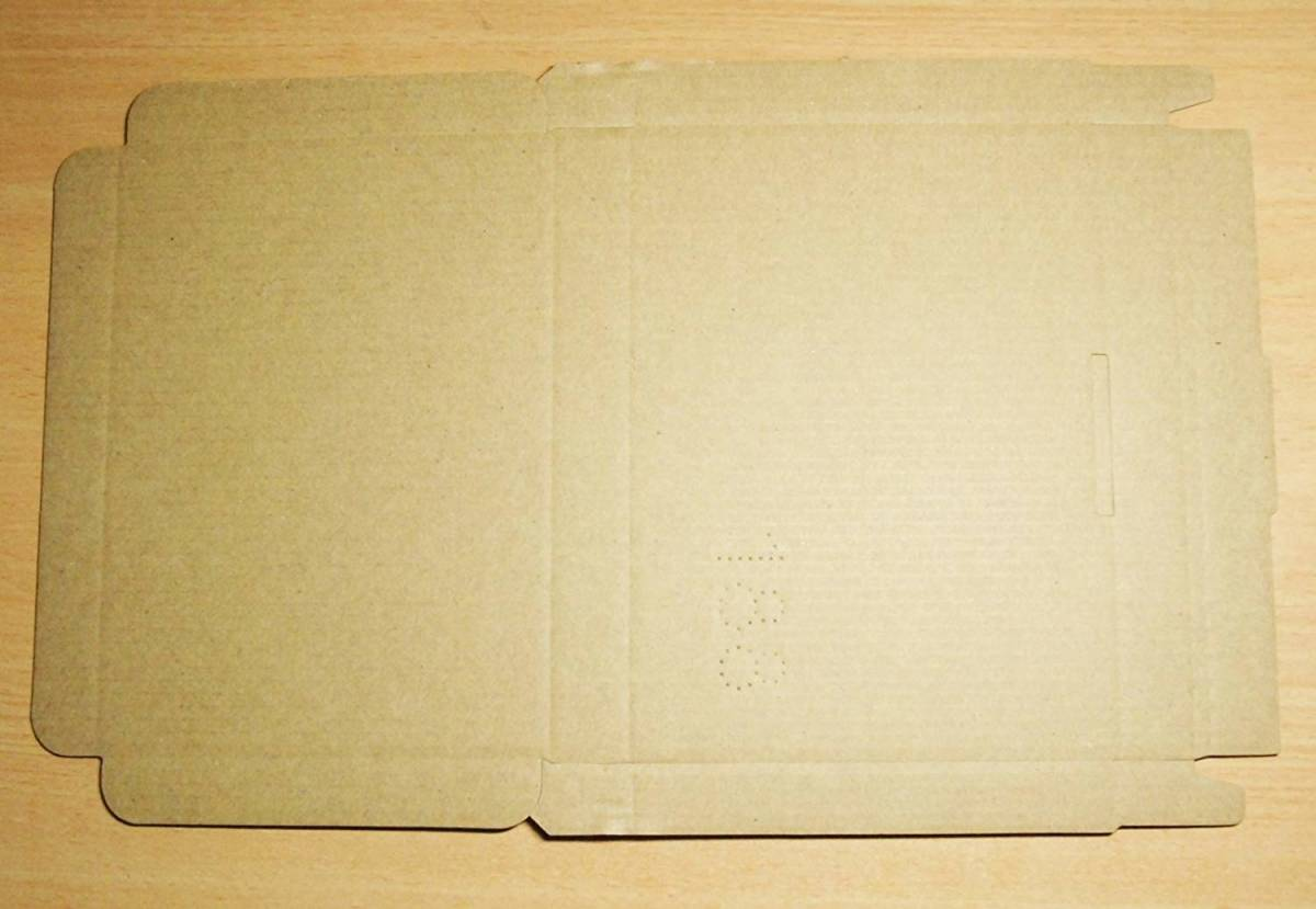 10枚セット★クリックポスト用A6・ ダンボール箱 ゆうパケット・ハガキサイズ(段ボール箱)(外寸:153×110×17)(1.5 mm厚)_画像3