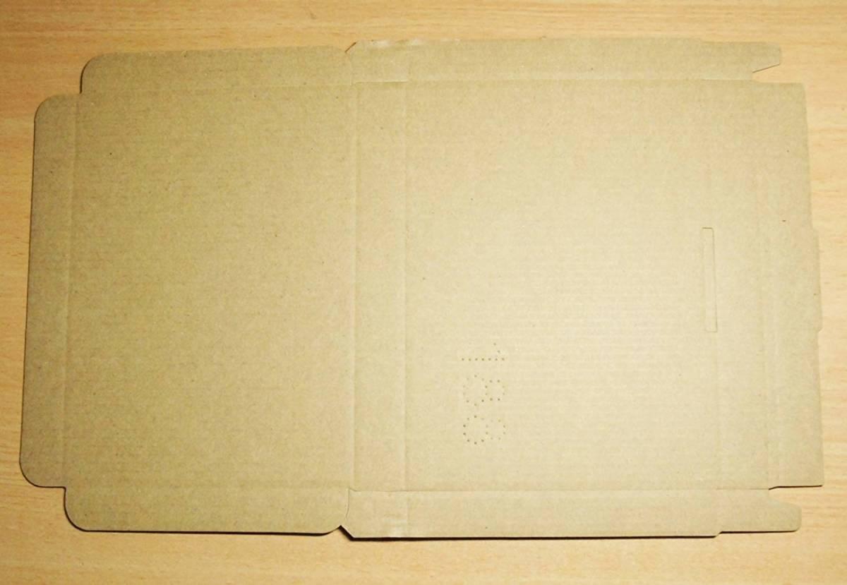 200枚セット★クリックポスト用A6・ ダンボール箱 ゆうパケット・ハガキサイズ(段ボール箱)(外寸:153×110×17)(1.5 mm厚)_画像3