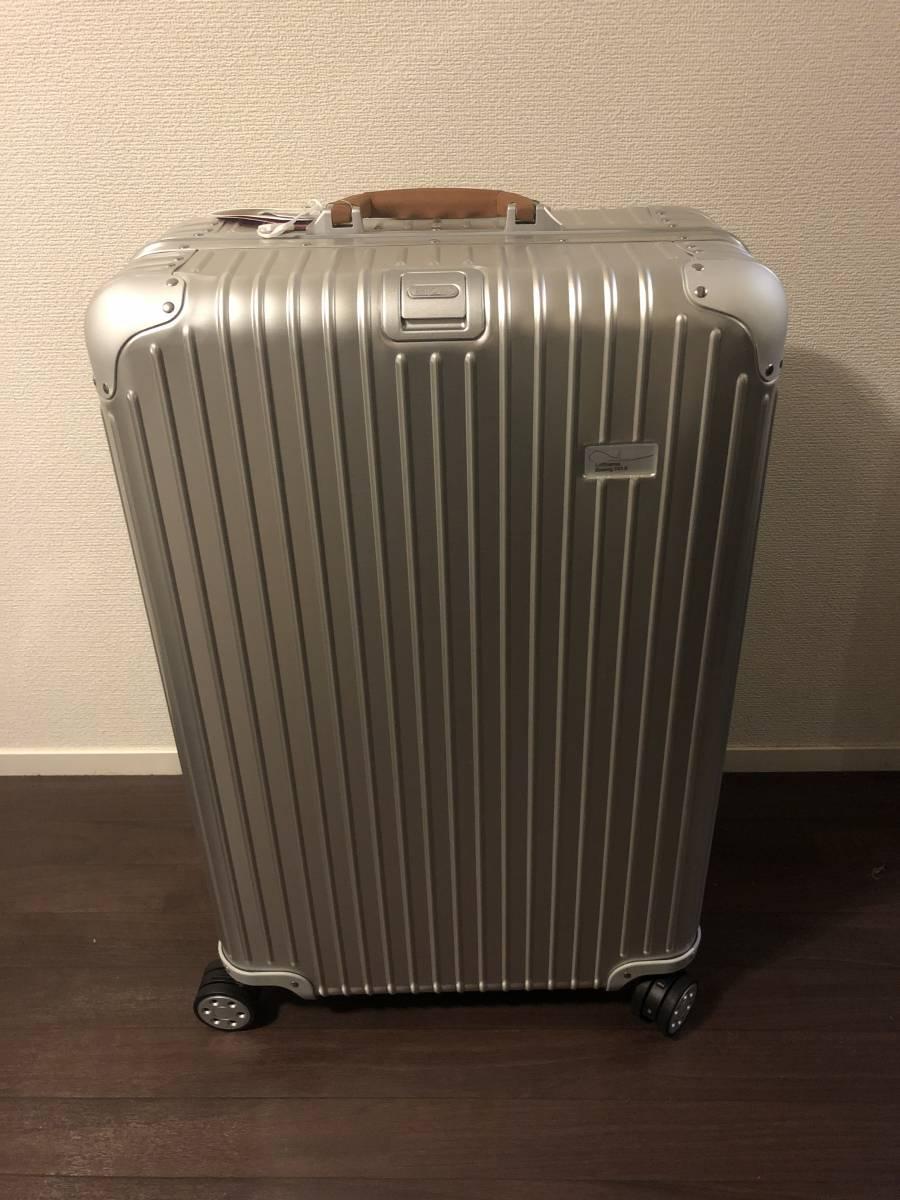 【新品未使用】リモワ ルフトハンザ ボーイング747-8 Electronic Tag 84.5L 4輪【送料定額】