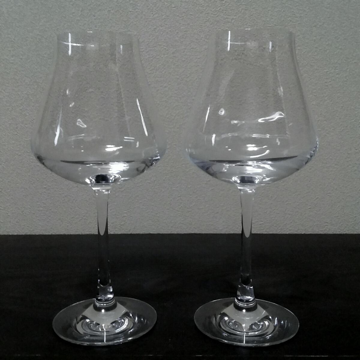 バカラ Baccarat シャトーバカラ ワイングラスS ペア 2客 未使用 保管品 美品