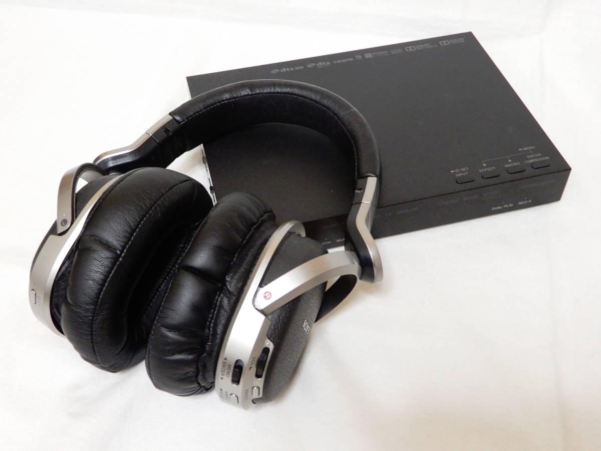 SONY ソニー MDR-HW700DS 9.1ch ワイヤレスステレオヘッドホン 動作確認済 中古 状態良好 デジタルサラウンドヘッドホンシステム 4K対応 _画像2