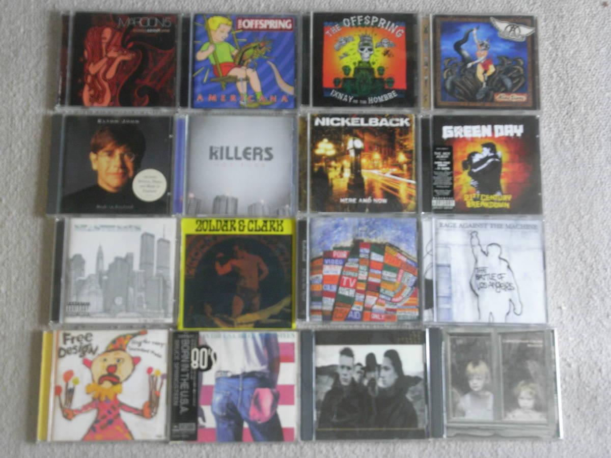洋楽 CDアルバム 大量 180枚セット / BEATLES、BOB DYLAN、PINK FLOYD、THE WHO、BEACH BOYS、NEIL YOUNG 他_画像3