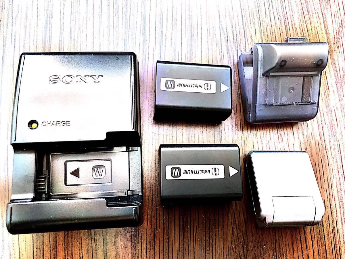 【中古美品】SONY NEX-5RL(純正バッテリー2個、純正革ケース付属)_画像5