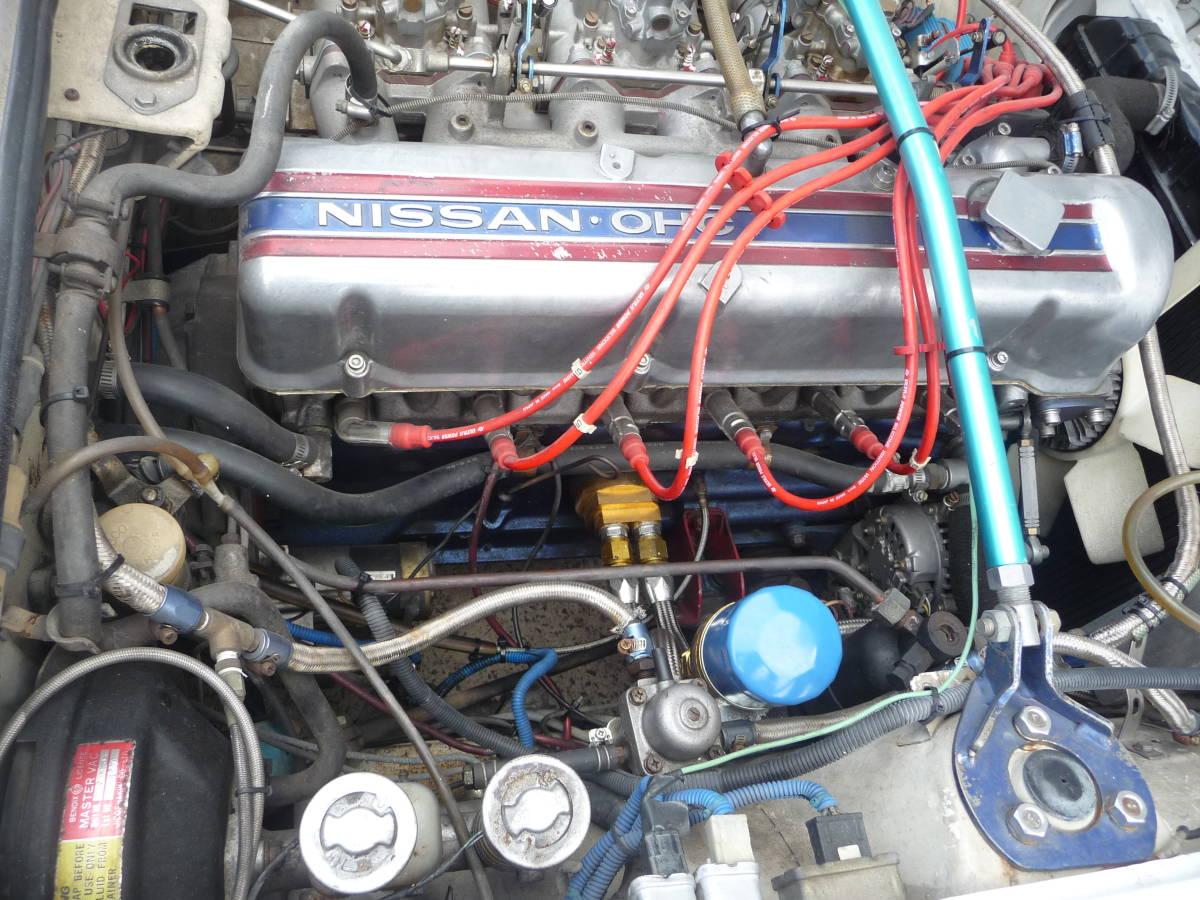 フェアレディZ S53年 3.1 5速 C-GS31改公認 エアコン付 PW付_画像4