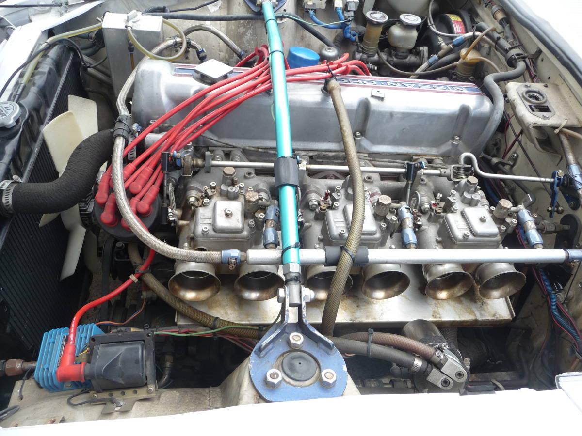 フェアレディZ S53年 3.1 5速 C-GS31改公認 エアコン付 PW付_画像5