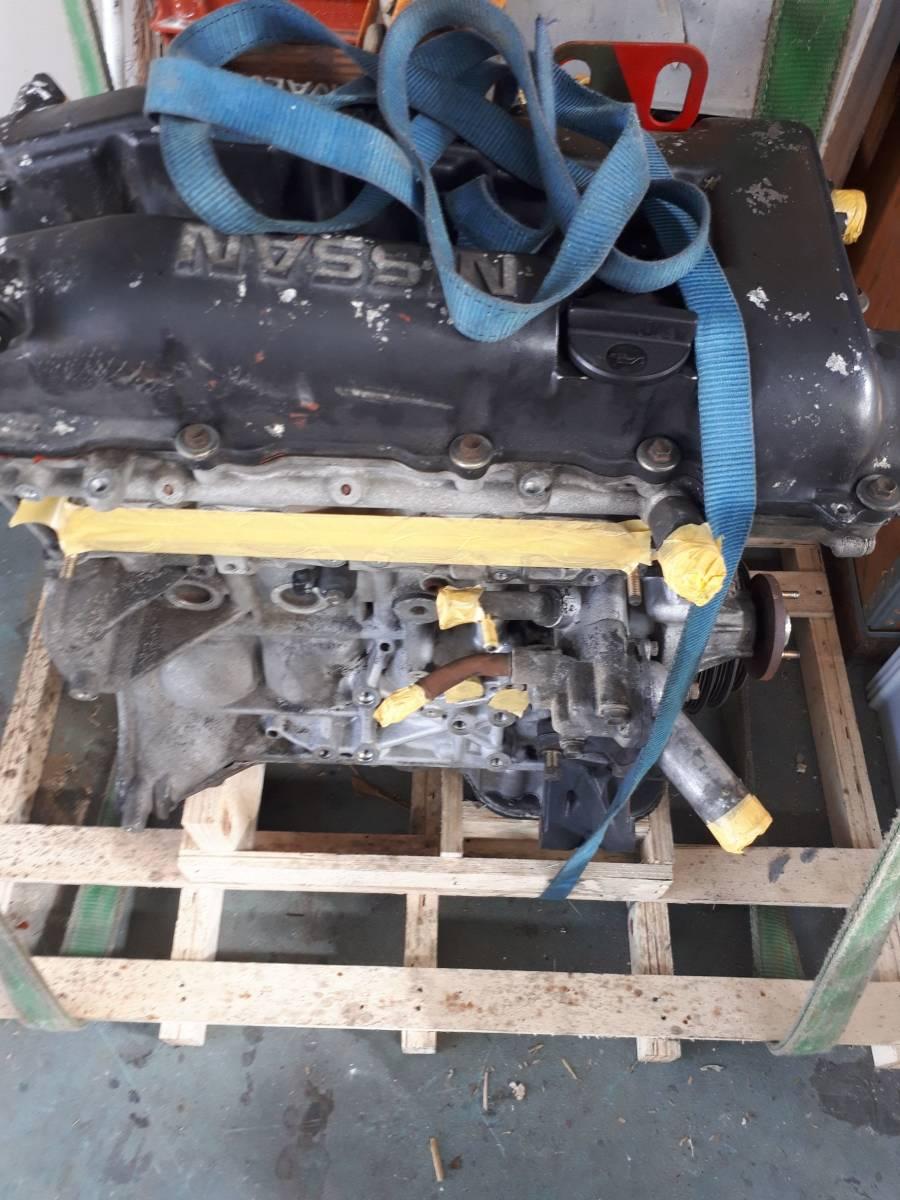 日産 シルビア s14 SR20DET 純正 エンジン 本体 中古 _画像7