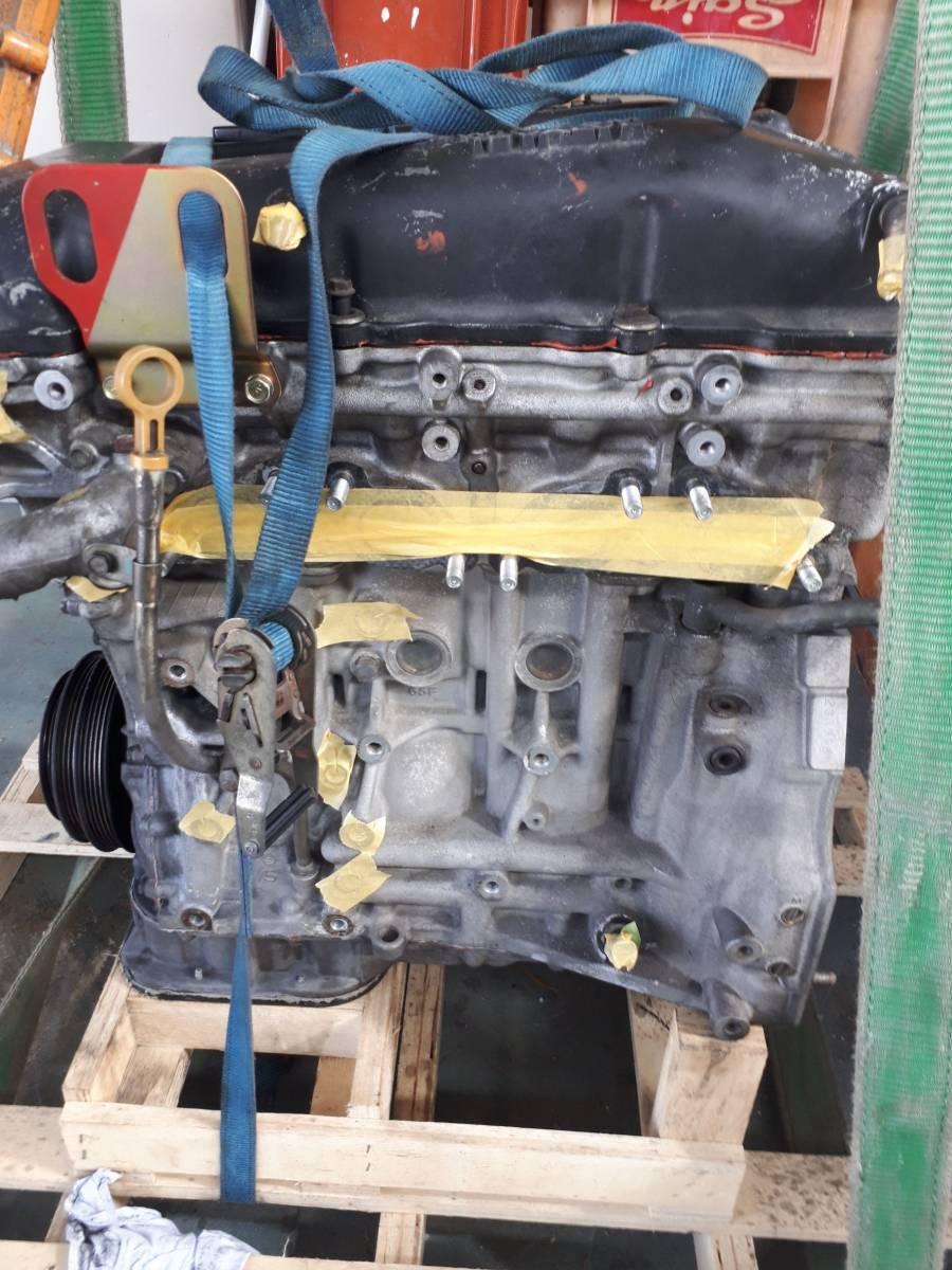 日産 シルビア s14 SR20DET 純正 エンジン 本体 中古 _画像4