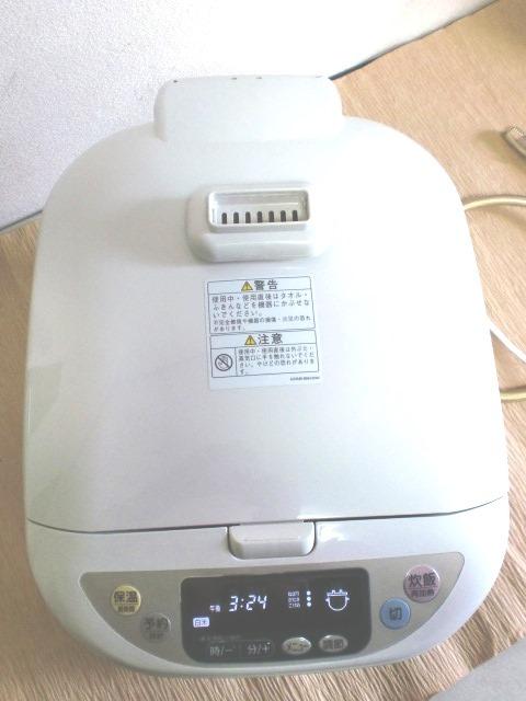 リンナイガス炊飯器 αかまど炊き 都市ガス用 12A.13A  RR-10MRT_画像3