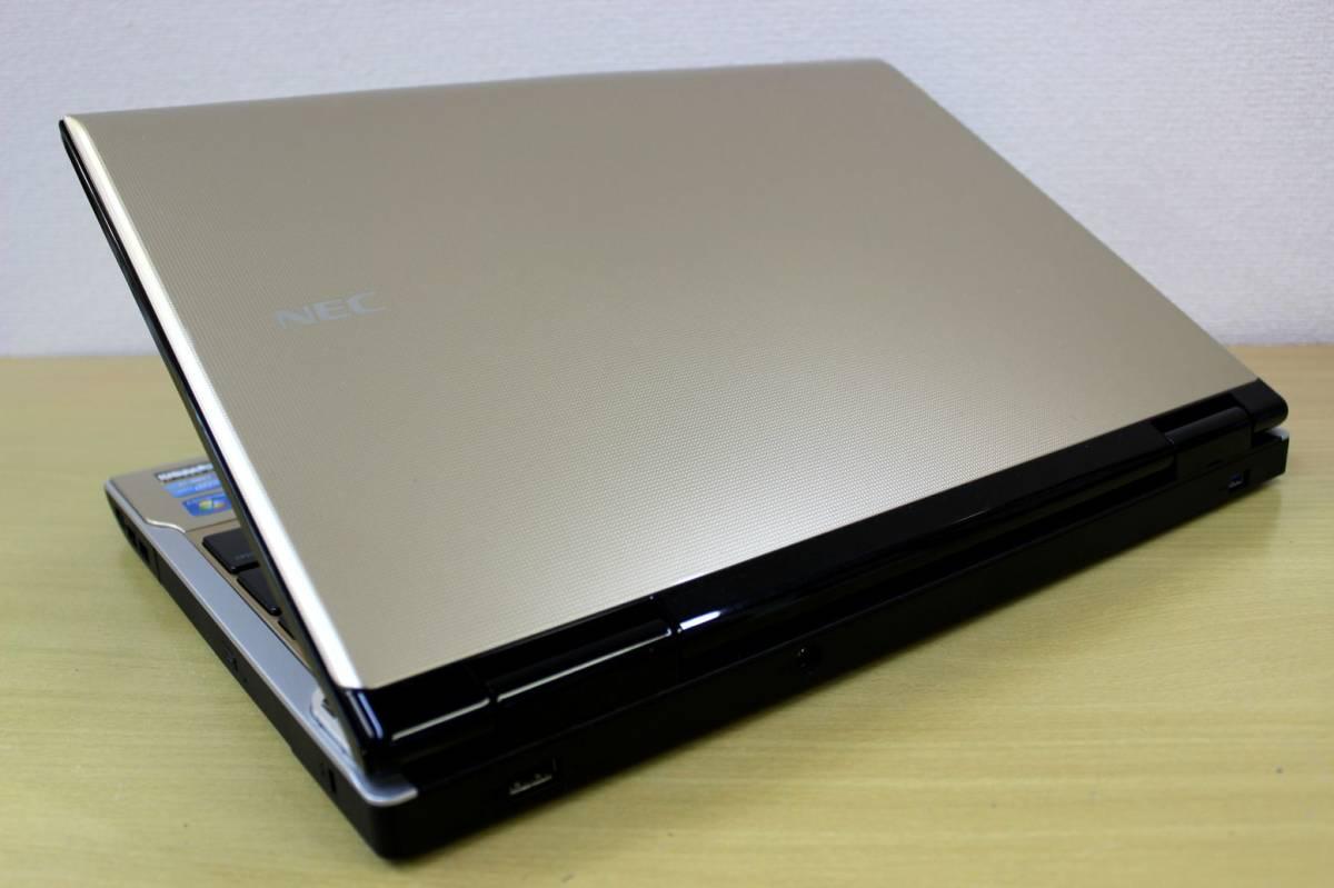 ★新品SSD512GB搭載★ Core i7-3610QM(Ivy Bridge) NEC LL750/H◇ メモリ8G office【YAMAHAサウンド】Blu-ray Webカメラ 最新 Windows10_画像9
