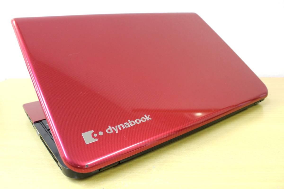 ★新品SSD512GB搭載★ 超速仕様 Core i7 東芝 B753/56JR ◇メモリ8G office Blu-ray Webカメラ Bluetooth モデナレッド 最新OS Windows10_画像9