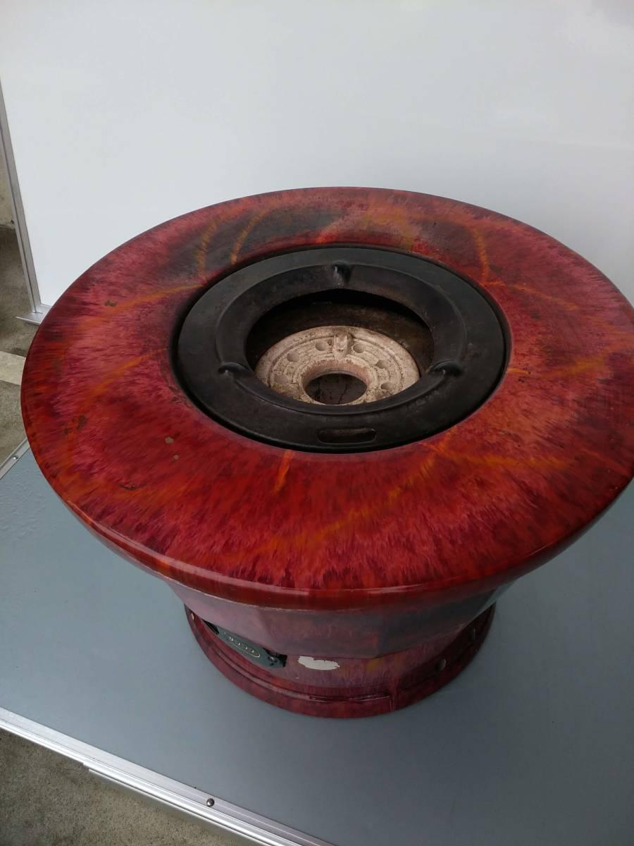 サンシン 練炭火鉢 昭和レトロ インテリア 陶器製 中古/4_画像2