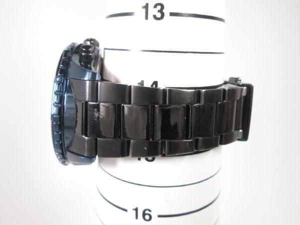 SEIKO セイコー WIRED ワイアード クロノグラフ クォーツ 回転ベゼル VK63-K270 ブルーブラック メンズ腕時計_画像9