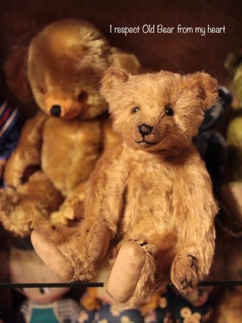 テディベア☆KEITA BEAR いつも一緒♪アンティーク風クラシックオールドベア♪…ボロクタちゃん_画像6