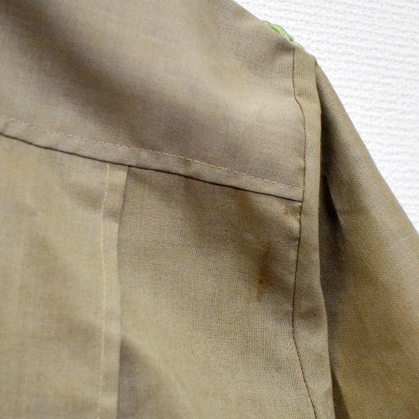 1970年 大阪万博 協会警備隊 制服シャツ ピンバッジ多数 当事物_画像7