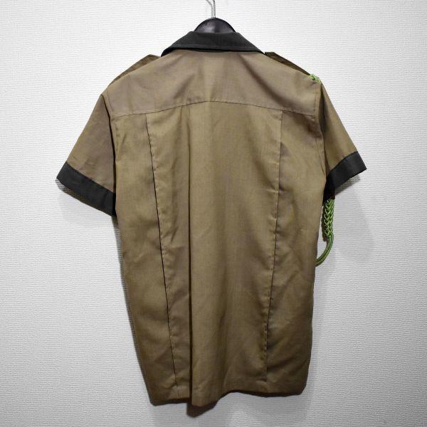 1970年 大阪万博 協会警備隊 制服シャツ ピンバッジ多数 当事物_画像2