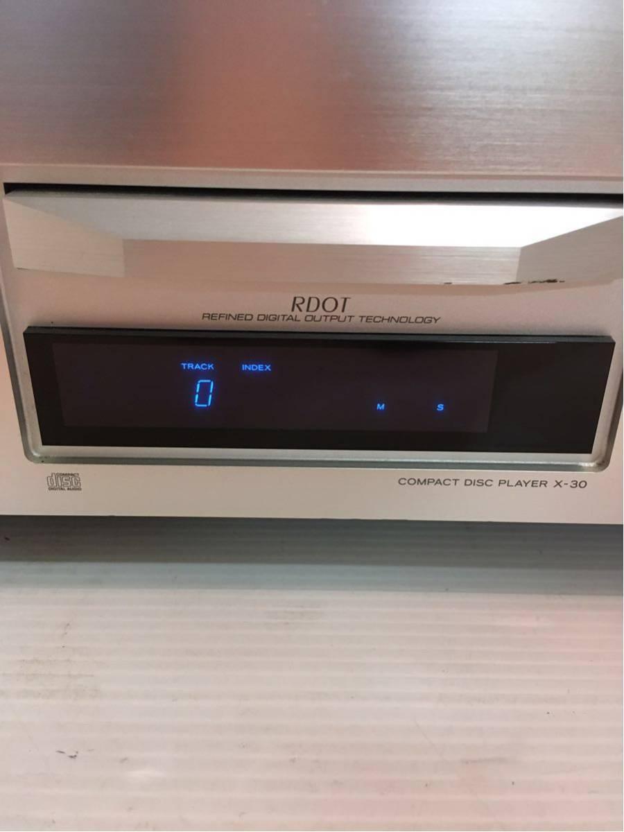 ●エソテリック X-30 CDプレーヤー 通電確認済ジャンク_画像3
