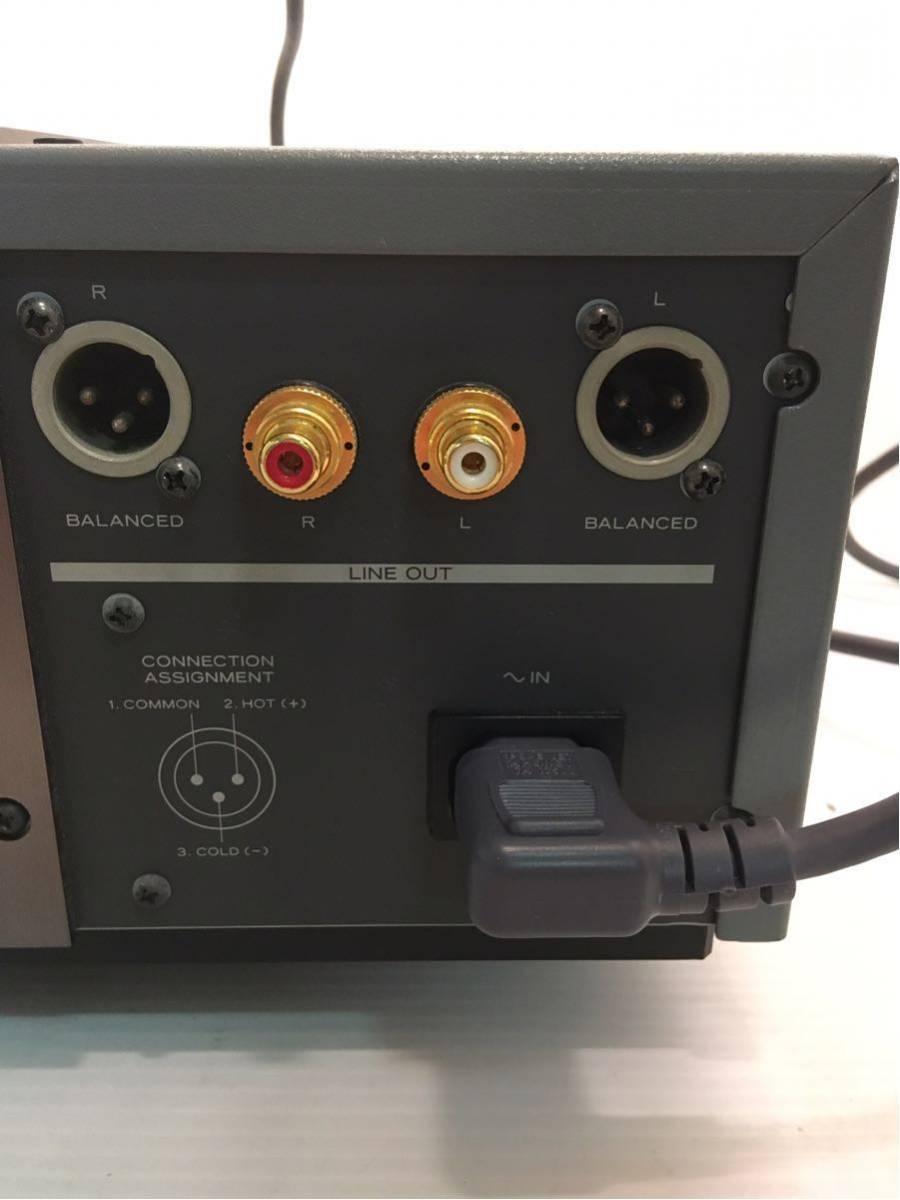 ●エソテリック X-30 CDプレーヤー 通電確認済ジャンク_画像8