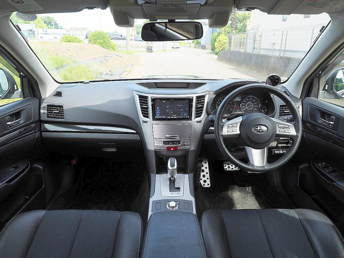 23年 レガシィW 2.5GT アイサイト Sパッケージ 4WD ターボ レーダークルコン プリクラ ナビ TV リアカメラ SI-DRIVE スマキー 車検2年12月_画像3