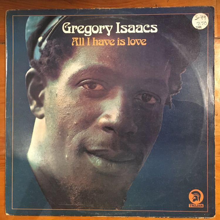 Gregory Isaacs / All I Have Is Love reggae レゲエ LP レコード_画像1