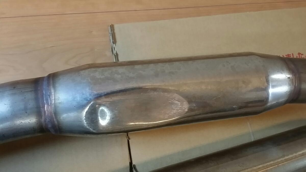 レガシィ ツーリングワゴン BF5 フジツボ レガリス マフラー _画像6