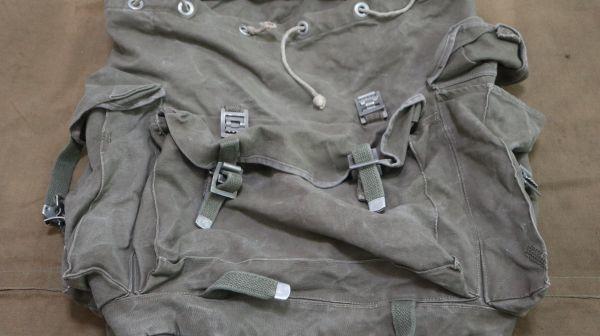 Sam 2322 60sドイツ軍 山岳部隊マウンテンリュック スウェーデン軍 送料無料 軍用 軍物 軍モノ ミリタリー ビンテージ_画像6