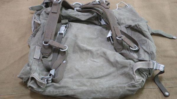 Sam 2322 60sドイツ軍 山岳部隊マウンテンリュック スウェーデン軍 送料無料 軍用 軍物 軍モノ ミリタリー ビンテージ_画像3