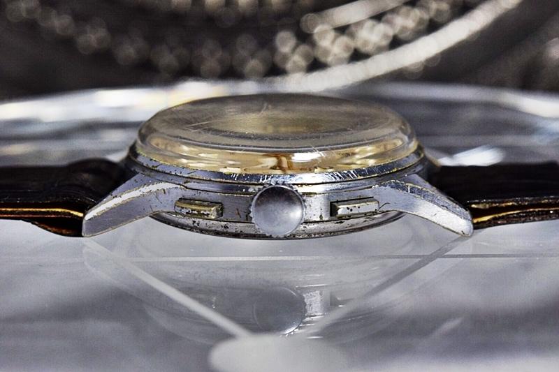 売切り!!1円~cal.175の原型★ヴィンテージ クロノグラフ 手巻き 腕時計 ビーナス cal.150 ヴィーナス Venus 飛びアラビア 1940-1950's_画像6