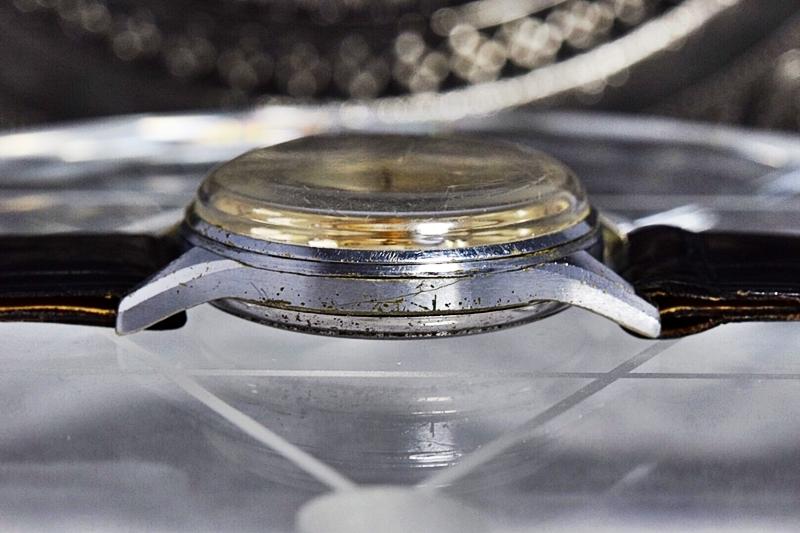売切り!!1円~cal.175の原型★ヴィンテージ クロノグラフ 手巻き 腕時計 ビーナス cal.150 ヴィーナス Venus 飛びアラビア 1940-1950's_画像7
