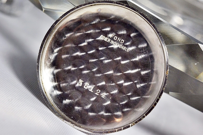 売切り!!1円~cal.175の原型★ヴィンテージ クロノグラフ 手巻き 腕時計 ビーナス cal.150 ヴィーナス Venus 飛びアラビア 1940-1950's_画像9