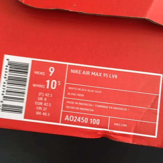 27cm NIKE AIR MAX 95 LV8 ナイキ エア マックス 95 2019_画像9