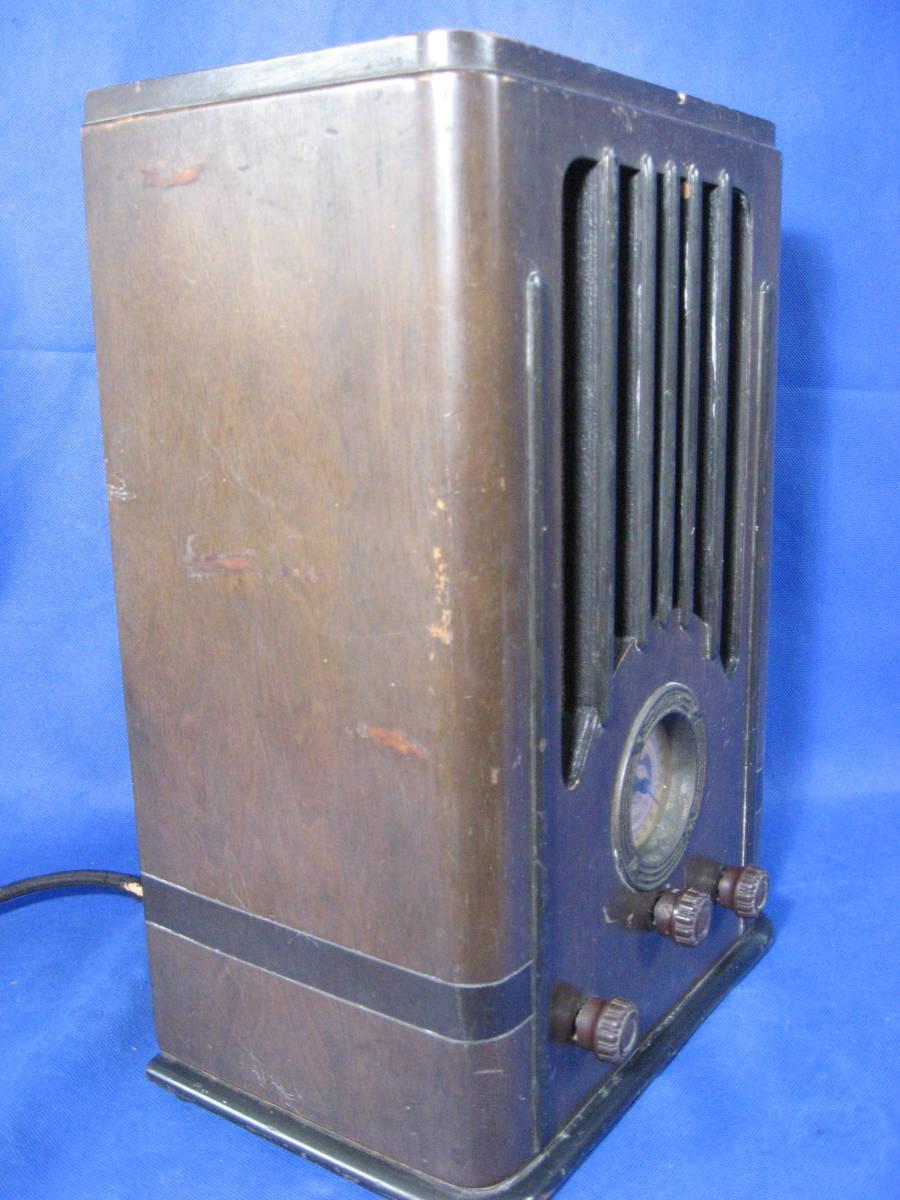 時代物、昭和初期、真空管式ラジオ、ヘルメス受信機、いい顔しています_画像6
