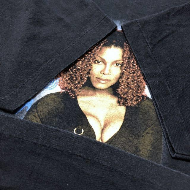 90s 1998 JANET JACKSON the velvet rope world tour オフィシャル Tシャツ L rap tee vintage ビンテージ jerry lorenzo fear of god_画像6