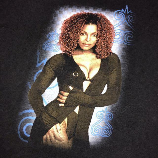 90s 1998 JANET JACKSON the velvet rope world tour オフィシャル Tシャツ L rap tee vintage ビンテージ jerry lorenzo fear of god_画像3