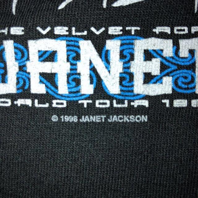 90s 1998 JANET JACKSON the velvet rope world tour オフィシャル Tシャツ L rap tee vintage ビンテージ jerry lorenzo fear of god_画像5