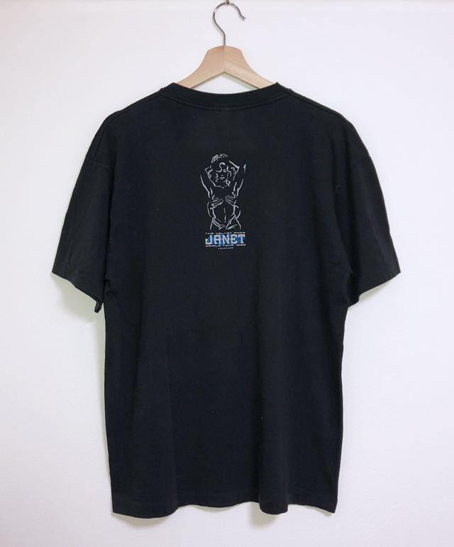 90s 1998 JANET JACKSON the velvet rope world tour オフィシャル Tシャツ L rap tee vintage ビンテージ jerry lorenzo fear of god_画像2