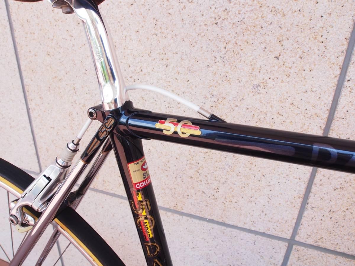 ★イタリアンビンテージロードバイク DACCORDI 50th Anniversary 1987y ダッコルディ カンパ Cレコ★_画像4