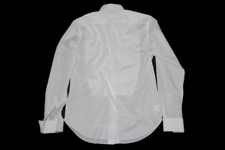 新品 14万【ブリオーニ】フォーマルに完璧な装い●ウイングカラー●ドレスシャツ 白 40_画像4