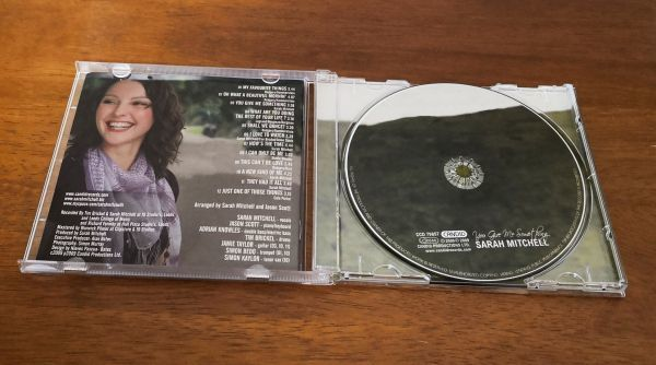 Sarah Mitchell / You Give Me Something (輸入盤CD)_画像2