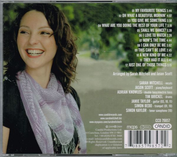 Sarah Mitchell / You Give Me Something (輸入盤CD)_画像3