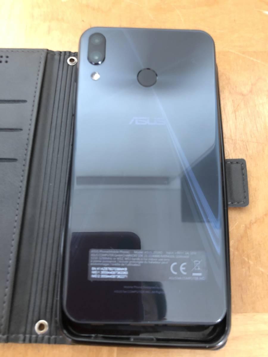 ASUS Zenfone 5z SDM845 6G RAM 128GB DSDV 6.2インチFHD 8M/12M&8Mカメラ デュアルLTD デュアルVOLTE 保証期間残有 おまけ_画像4