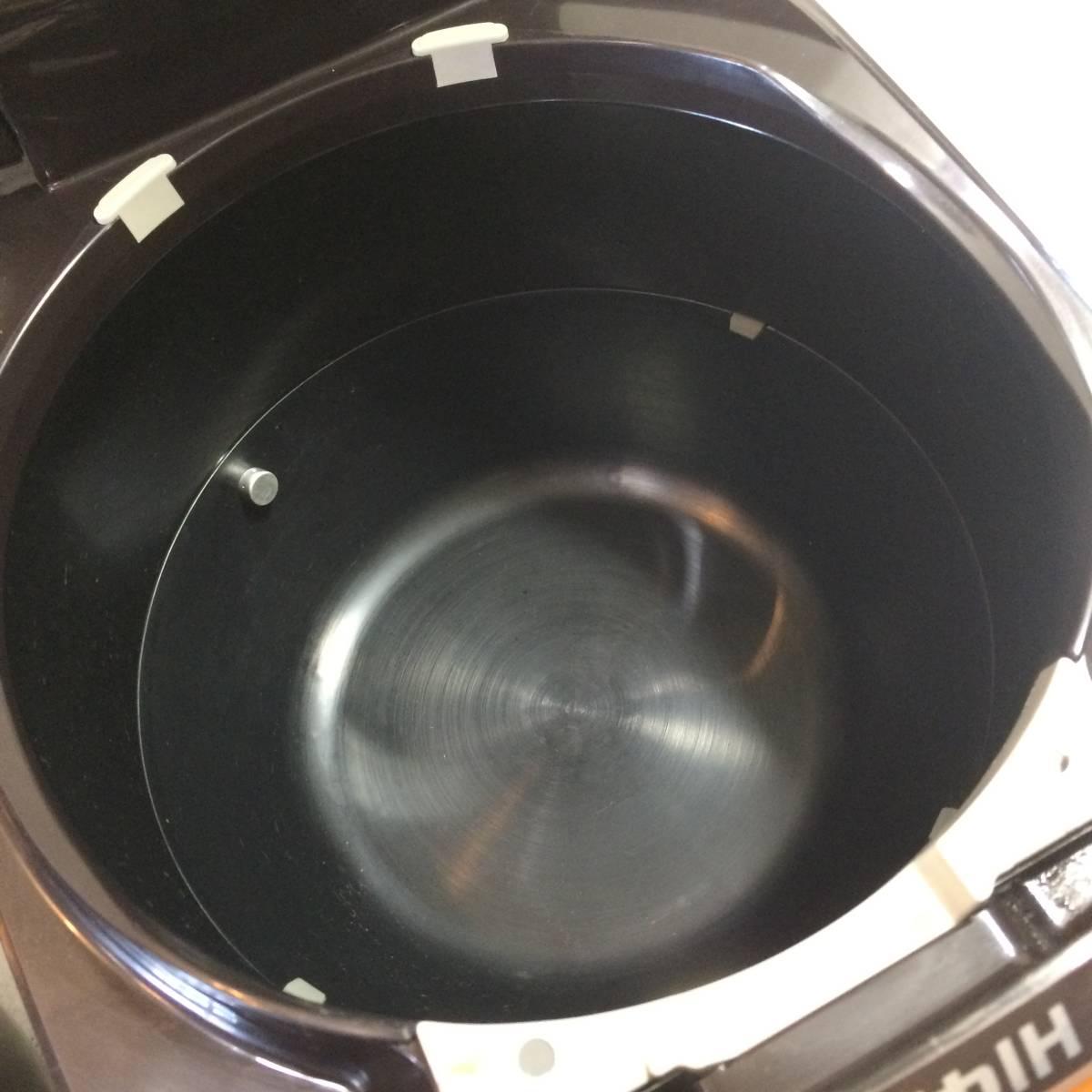ZOJIRUSHI 象印 NP-ZF18-TD IHジャー 炊飯器 1升 1.8L 2017年製 【中古品】_画像5