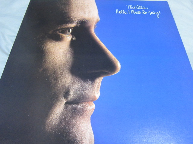 Phil Collins Hello, I Must Be Going US盤LP フィル・コリンズ 2 心の扉_画像1