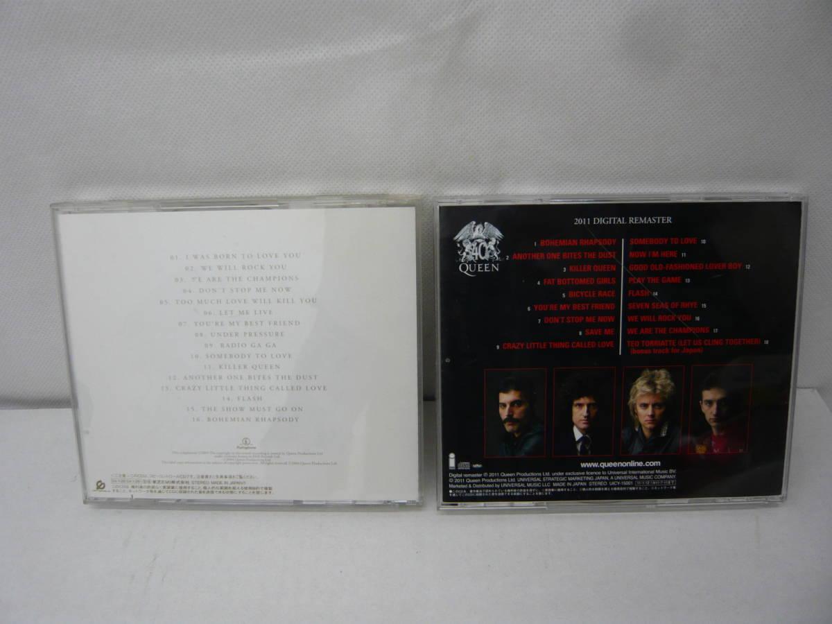 『CD』 QUEEN GREATEST HITS クイーン QUEEN クイーン JEWELS 2枚_画像2