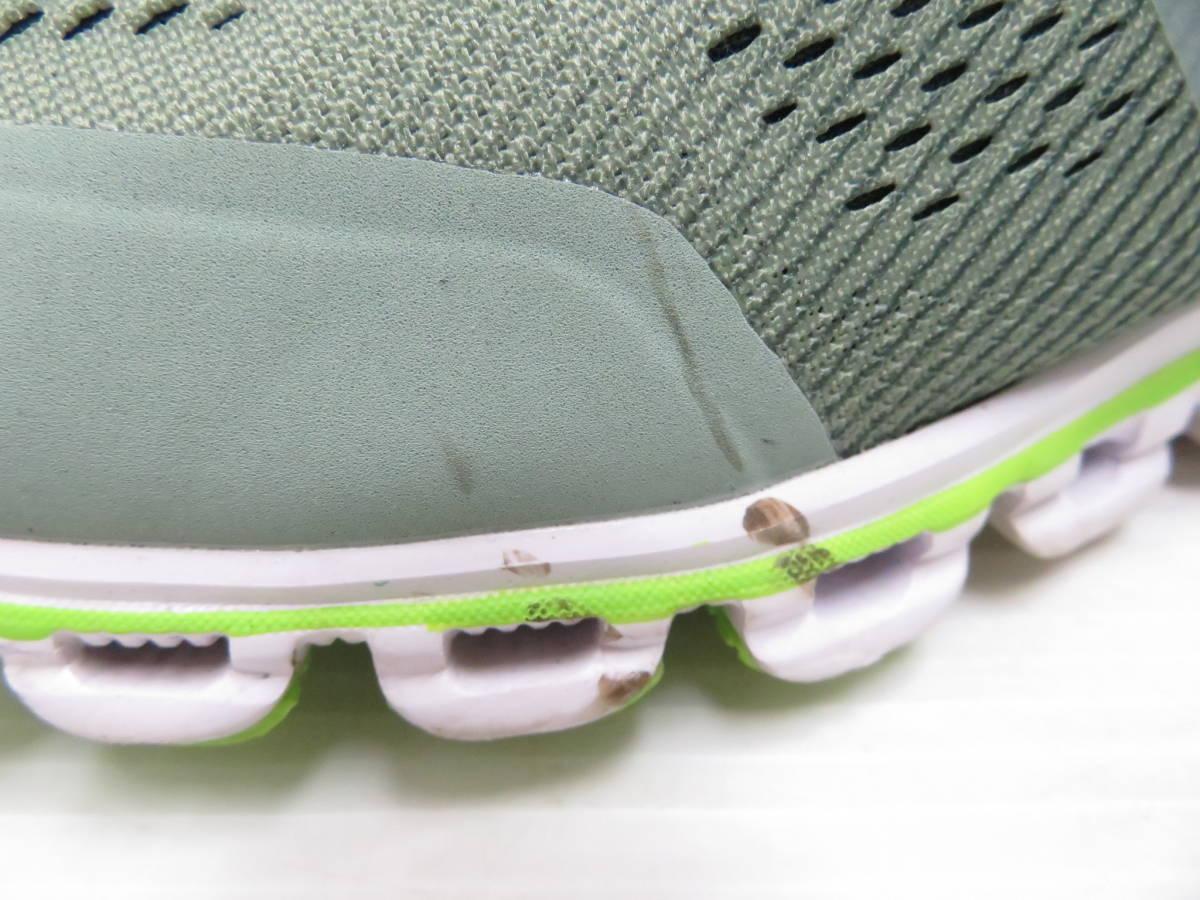 On 15.99991 Cloudflow Moss Lime US:M9 27.0cm オン クラウドフロー モス ライム メンズ ランニングシューズ スニーカー スポーツ 運動 靴_画像7